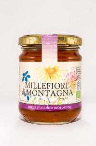 miele millefiori di montagna biologico