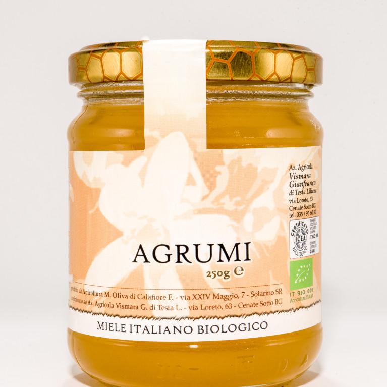 miele biologico di agrumi vismara