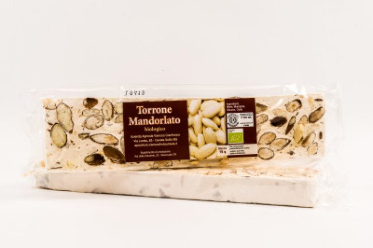 Torrone biologico Mandorlato al miele Vismara: Vendita diretta on line