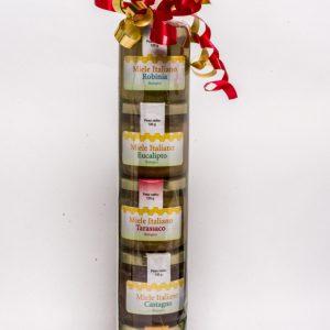 Una confezione regalo Miele per bomboniere e cerimonie.