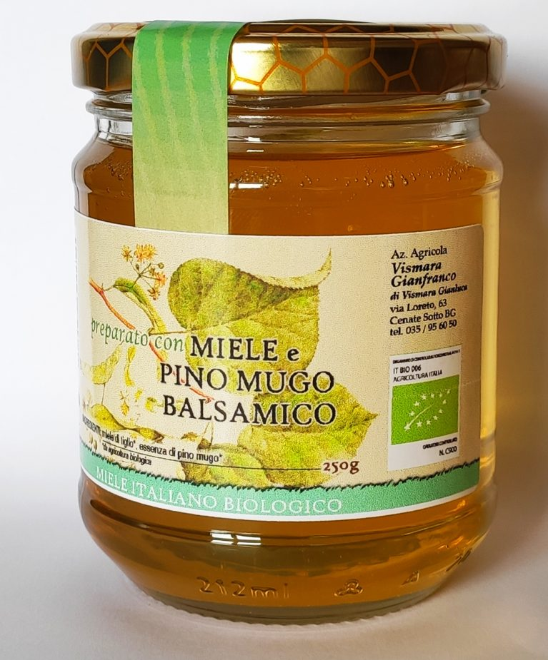 miele e pino mugo balsamico