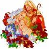Ave, o Maria, piena di grazia, il Signore è con te. Tu sei benedetta fra le donne e benedetto è il frutto del tuo seno, Gesù. Santa Maria, Madre di Dio, prega per noi peccatori, adesso e nell'ora della nostra morte.