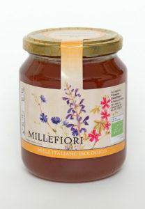 Miele di Millefiori biologico naturale: Vendita dal produttore al consumatore. Miele biologico a Roma.
