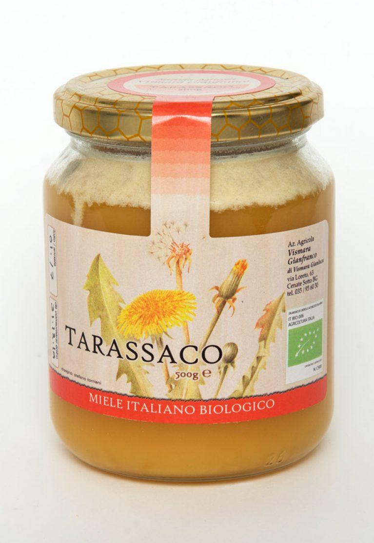 Miele biologico di tarassaco naturale: Produzione e Vendita dal produttore al consumatore