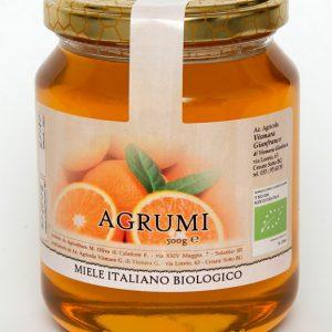 Miele biologico di agrumi naturale: Produzione e Vendita dal produttore al consumatore
