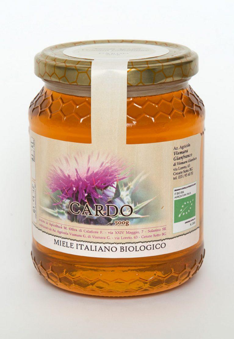 Miele biologico di Cardo: acquista on line un miele ricco di proprietà e benefici.