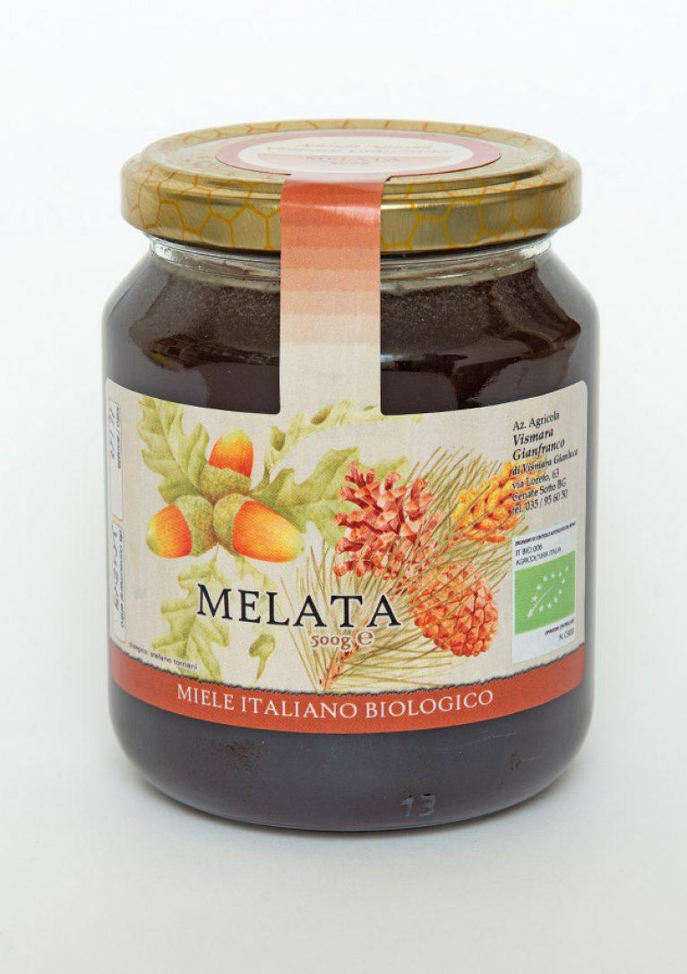 Miele biologico di melata naturale: Produzione e Vendita dal produttore al consumatore