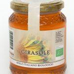 Miele biologico di girasole naturale: Produzione e Vendita dal produttore al consumatore