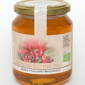 Miele biologico di sulla naturale: Produzione e Vendita dal produttore al consumatore