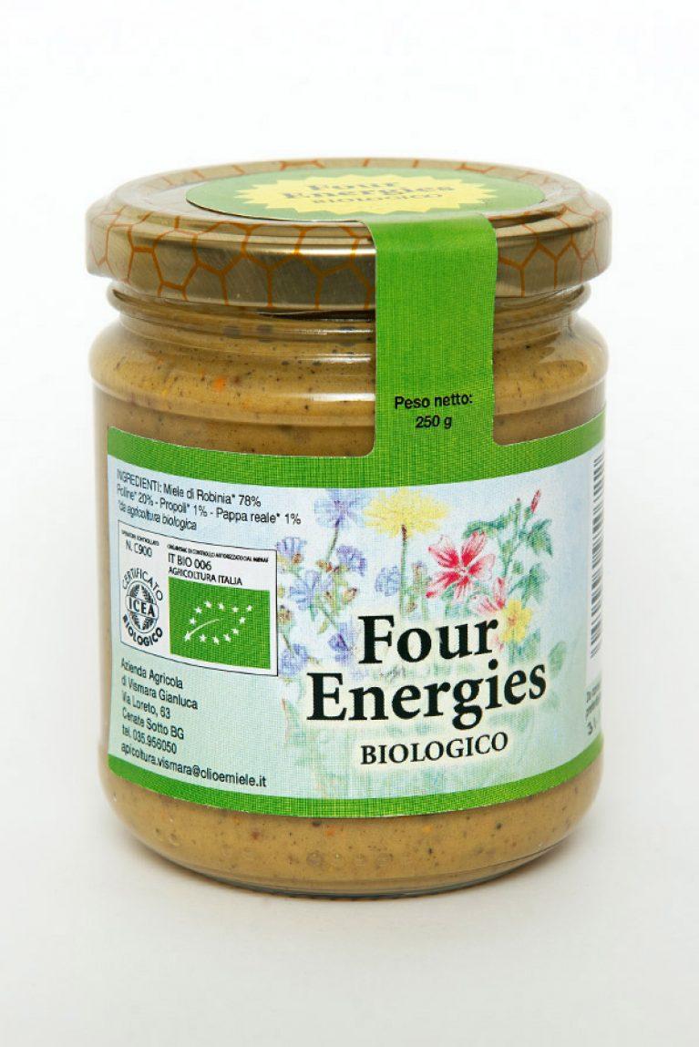Four Energies energetico miele polline pappa reale propoli biologico naturale: Produzione e Vendita dal produttore al consumatore