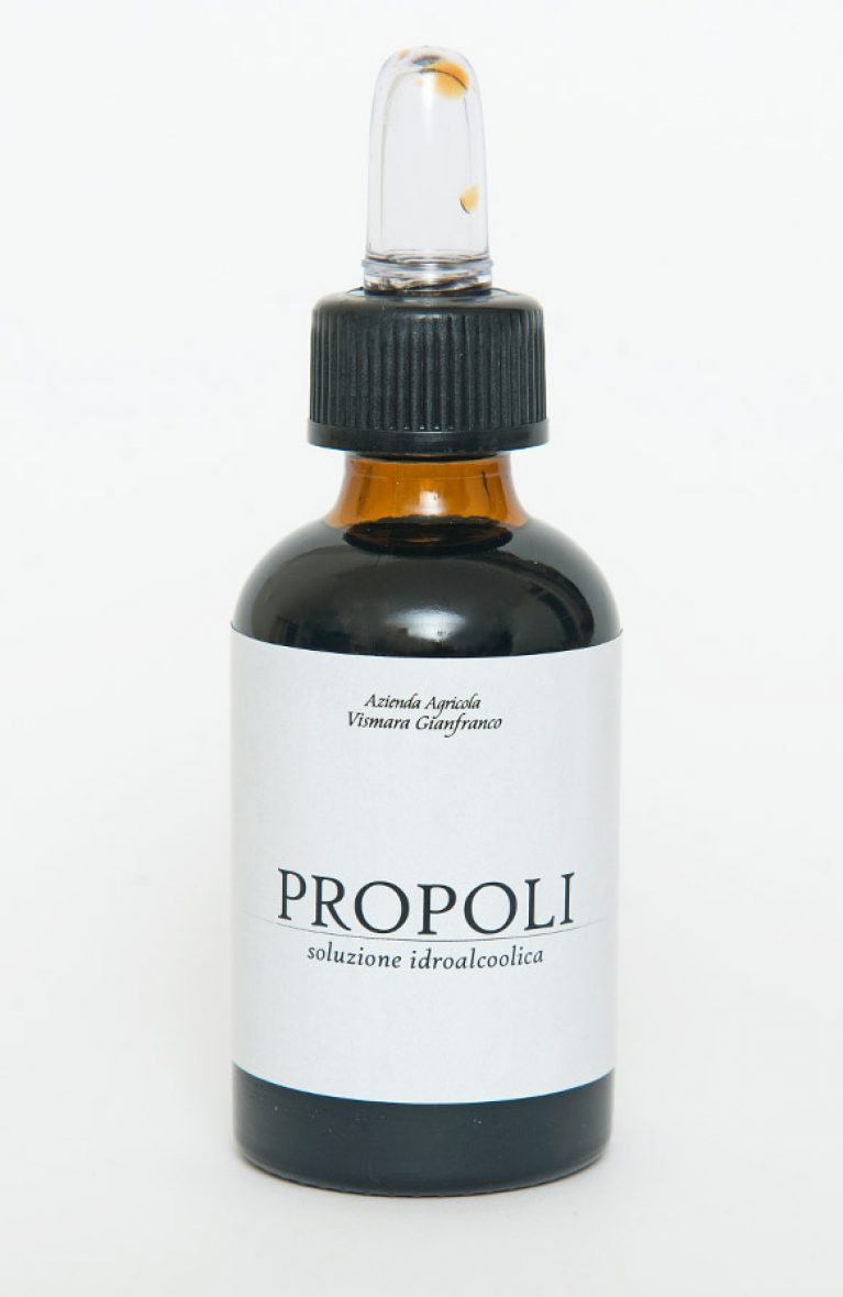 Propoli in gocce biologica in soluzione alcolica biologica naturale: Produzione e Vendita dal produttore al consumatore