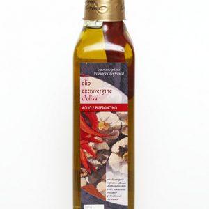 Olio EVO con Aglio e Peperoncino biologico: Produzione e Vendita dal produttore al consumatore