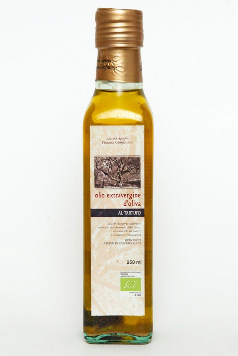Olio extravergine di oliva con tartufo biologico naturale: Produzione e Vendita dal produttore al consumatore