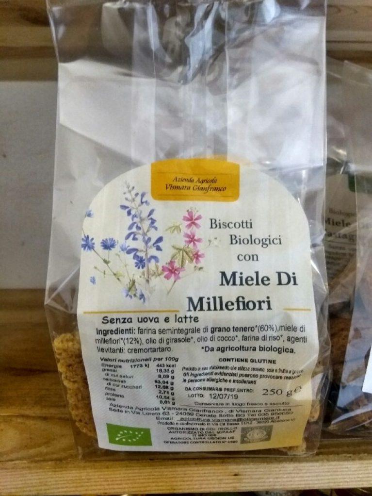Biscotti al miele di Millefiori Azienda Agricola Vismara Gianfranco vendita on line su Olioemiele.it